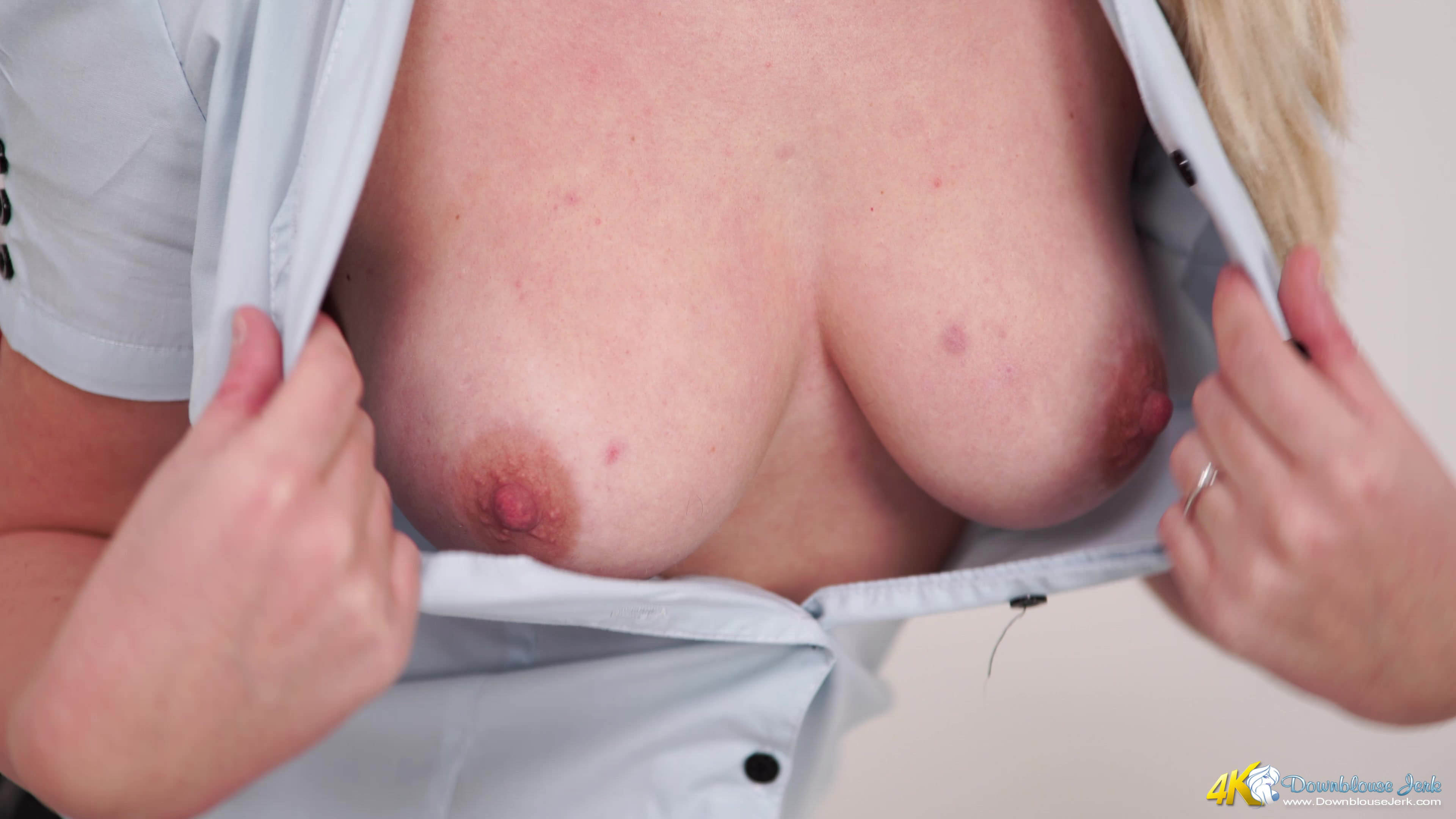 Look at tits down blouse clip that can